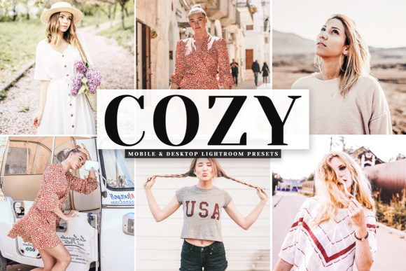 Print on Demand: Cozy Pro Lightroom Presets Graphic Actions & Presets By Creative Tacos