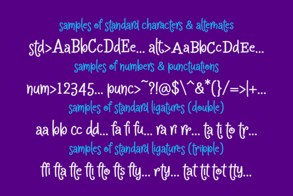 Print on Demand: Crapty Display Font By MaxnorType - Image 9