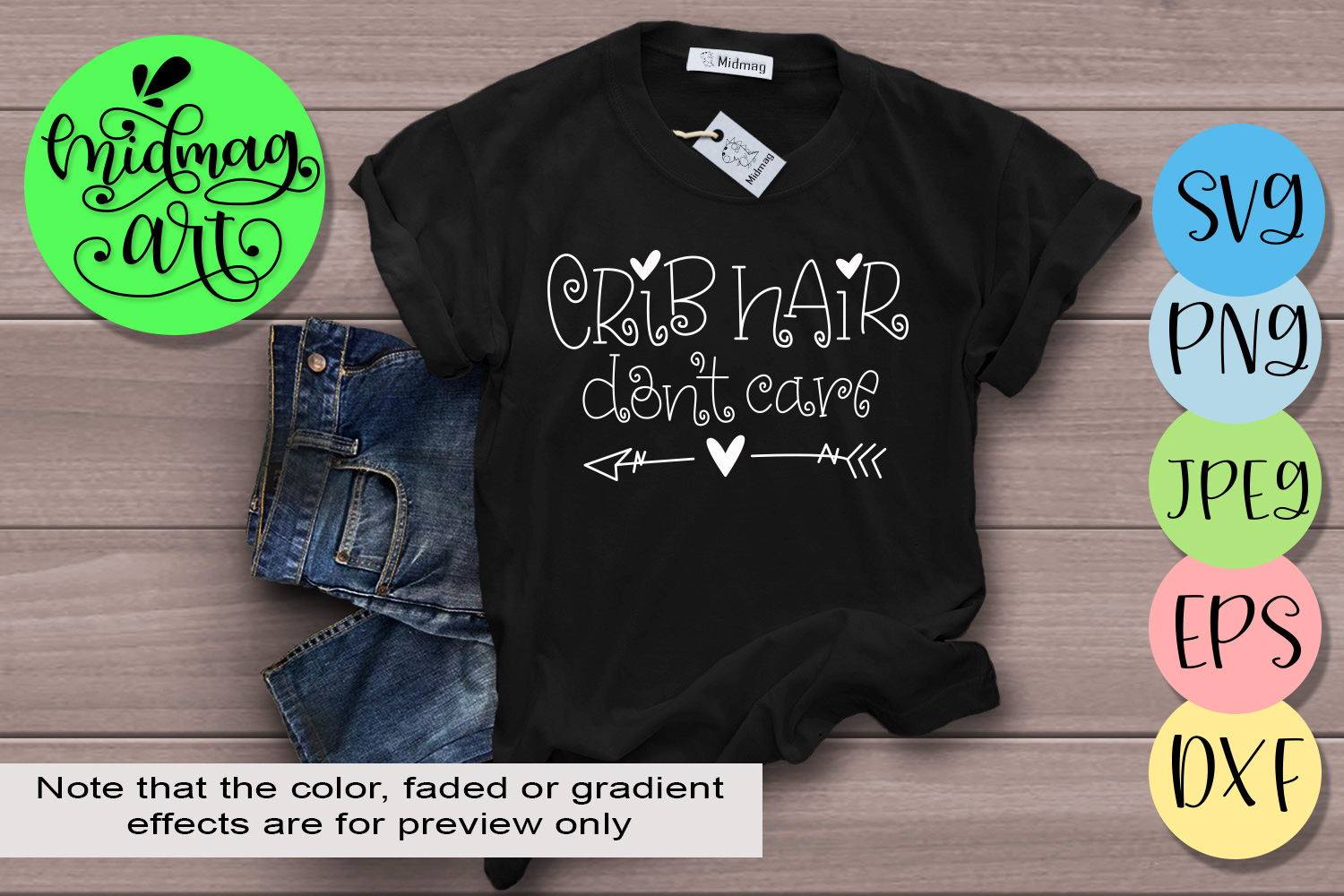 Download Free Crib Hair Don T Care Graphic By Midmagart Creative Fabrica for Cricut Explore, Silhouette and other cutting machines.