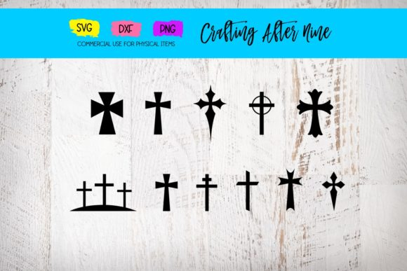 Print on Demand: Cross Bundle Graphic Crafts By Crafting After Nine