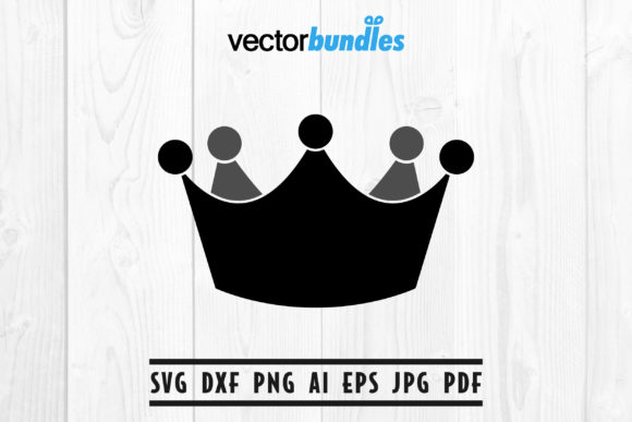 Download Free Crown Clip Art Svg Graphic By Vectorbundles Creative Fabrica for Cricut Explore, Silhouette and other cutting machines.