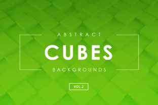 Download Free Cubes Abstract Backgrounds Vol 2 Graphic By Artistmef Creative for Cricut Explore, Silhouette and other cutting machines.