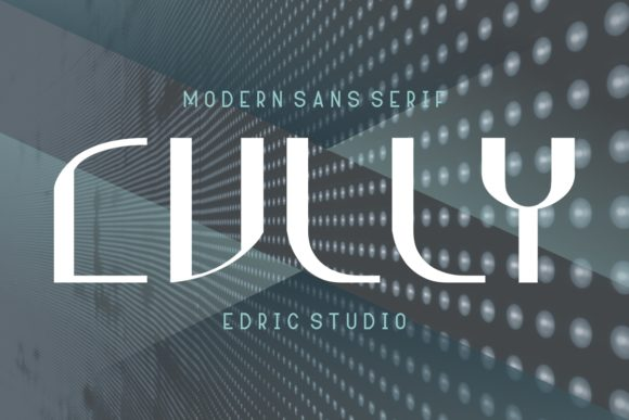 Print on Demand: Cully Sans Serif Font By EdricStudio - Image 1