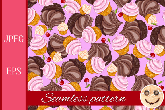 Download Free 380 Cupcake Designs Graphics SVG Cut Files