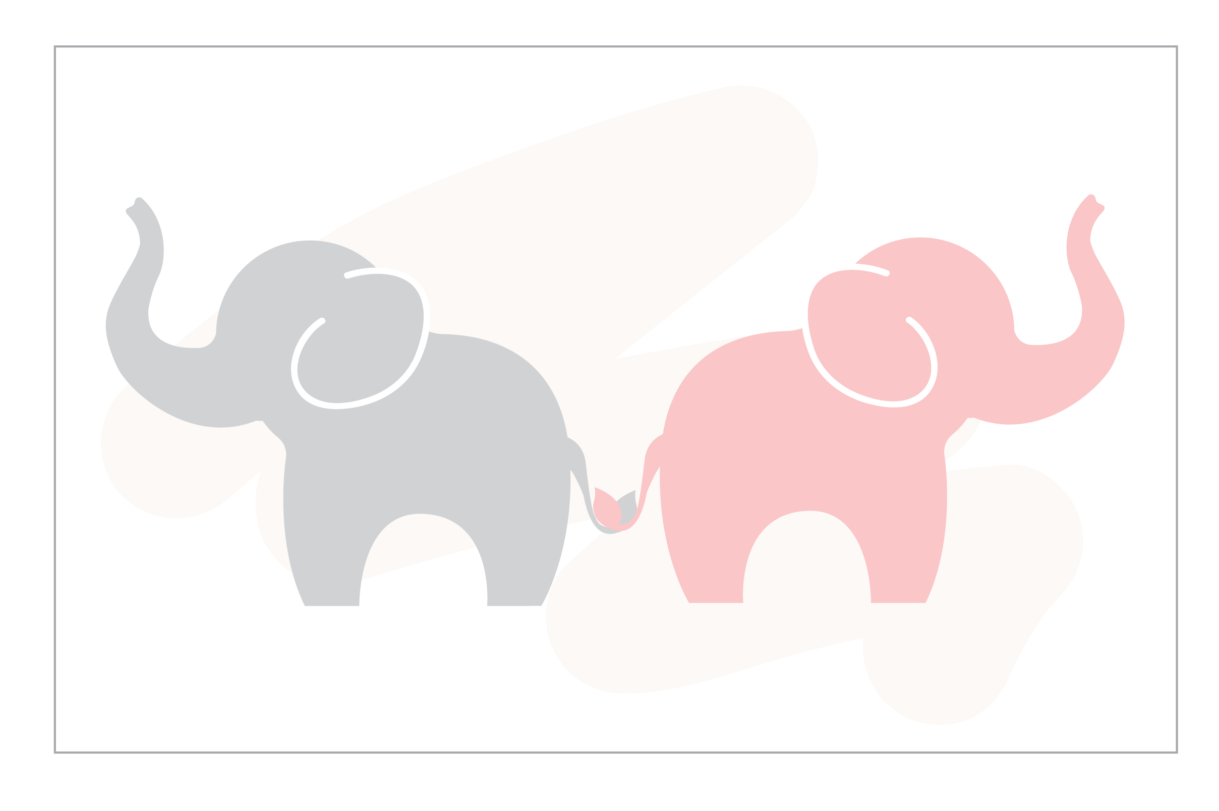 Download Free Cute Elephant Cards Graphic By Underscore Creative Fabrica for Cricut Explore, Silhouette and other cutting machines.