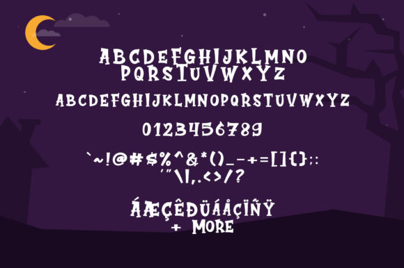 Print on Demand: Cute Ghost Display Font By suzurantype - Image 6