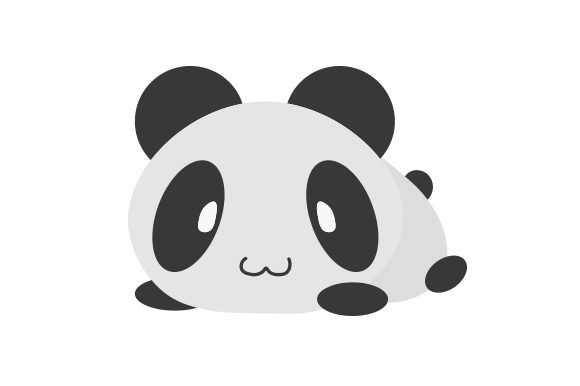 Download Free Cute Panda Svg Cut File By Creative Fabrica Crafts Creative for Cricut Explore, Silhouette and other cutting machines.