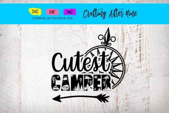 Print on Demand: Cutest Camper Graphic Crafts By Crafting After Nine