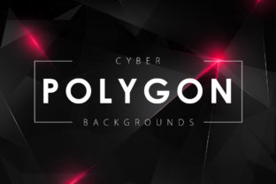 Cyber Polygon Backgrounds Graphic By ArtistMef