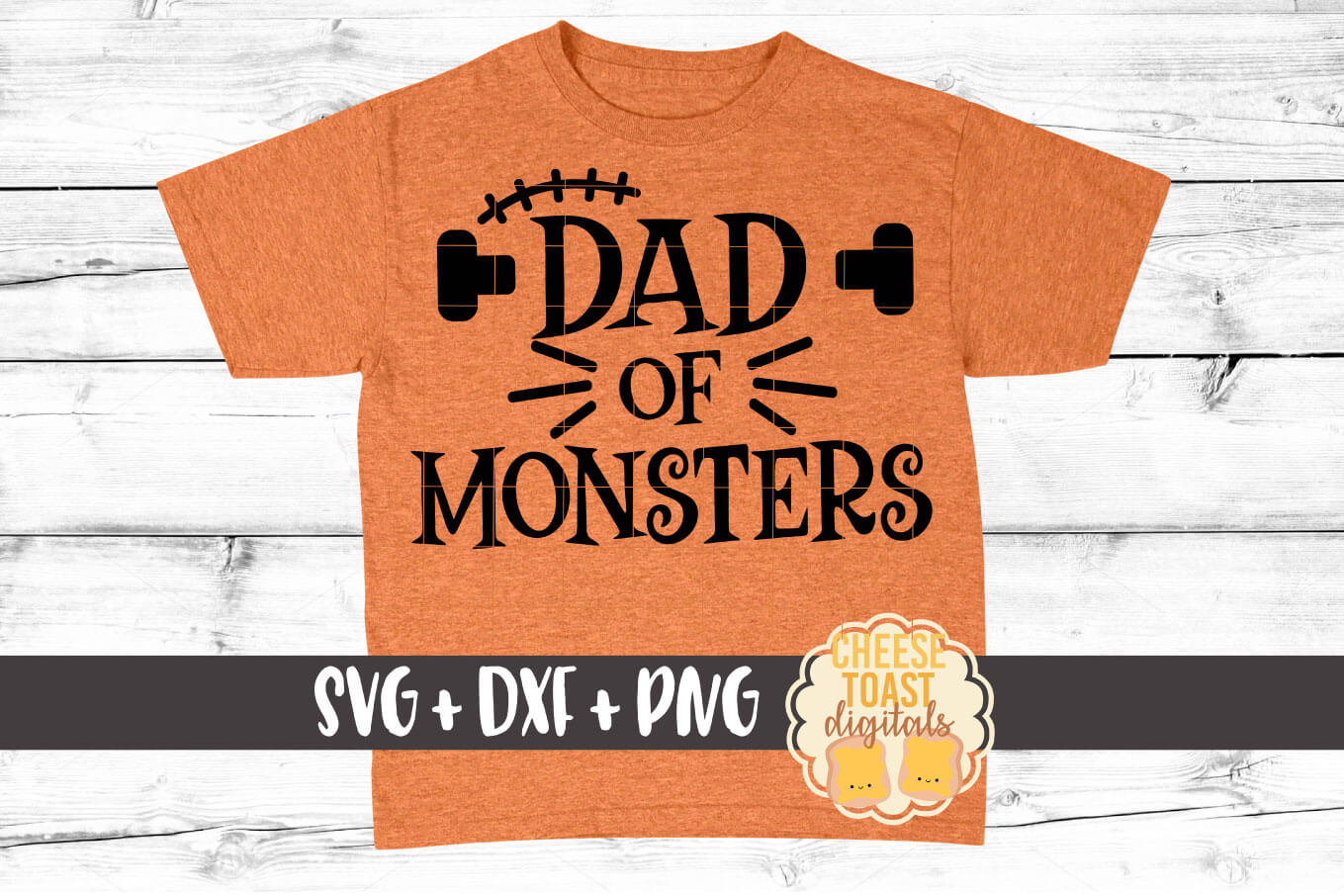 Download Free Dad Of Monsters Graphic By Cheesetoastdigitals Creative Fabrica for Cricut Explore, Silhouette and other cutting machines.