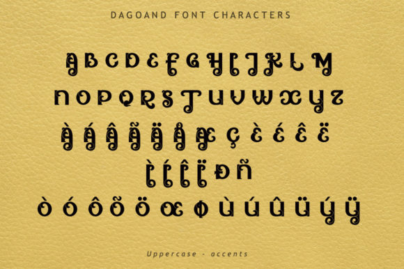 Print on Demand: Dagoand Display Font By leamsign - Image 5