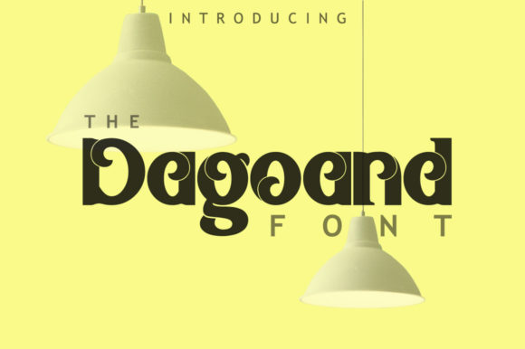 Print on Demand: Dagoand Display Font By leamsign