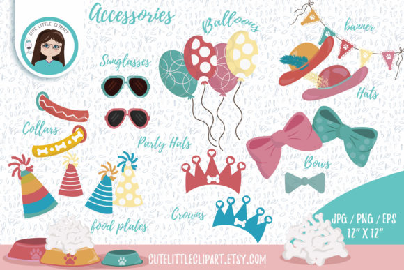 Download Free Dalmatians Clipart Graphic By Cutelittleclipart Creative Fabrica for Cricut Explore, Silhouette and other cutting machines.