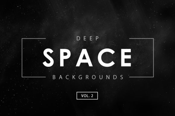 Print on Demand: Deep Space Backgrounds 2 Graphic Backgrounds By ArtistMef