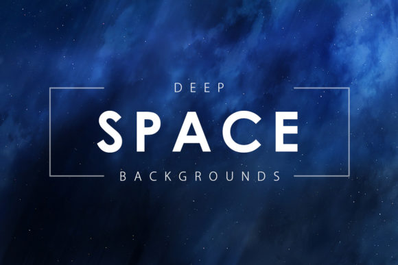 Print on Demand: Deep Space Backgrounds Graphic Backgrounds By ArtistMef