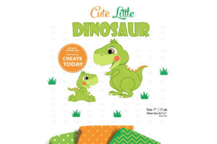 Dinosaur Clipart,baby Dinasour Limegreen Graphic By adlydigital