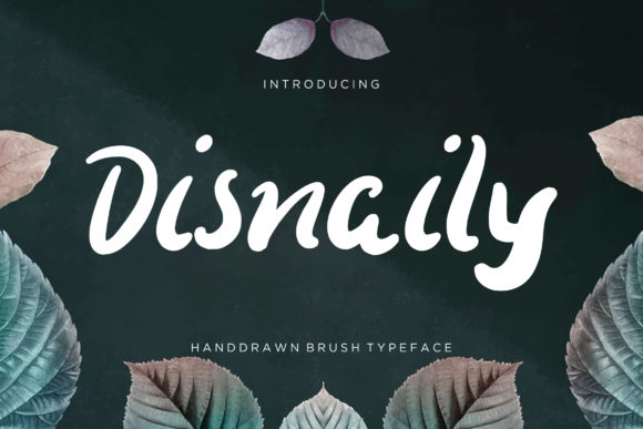 Print on Demand: Disnaily Display Font By CreatypeStudio