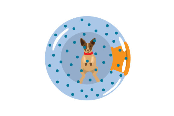 Download Free Dog In Zorbing Ball Svg Cut File By Creative Fabrica Crafts for Cricut Explore, Silhouette and other cutting machines.