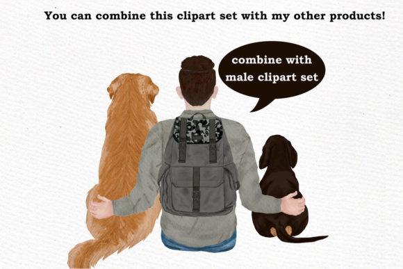 Dogs Clipart Graphic By LeCoqDesign Image 7
