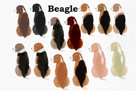 Dogs Clipart Graphic Crafts By LeCoqDesign - Image 6