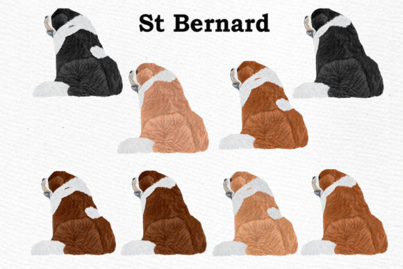 Dogs Clipart Graphic Crafts By LeCoqDesign - Image 8