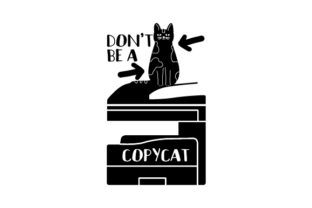Don't Be a Copycat - Back to School Craft Design By Creative Fabrica Crafts