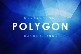 Dust & Grunge Polygonal Backgrounds Graphic By ArtistMef