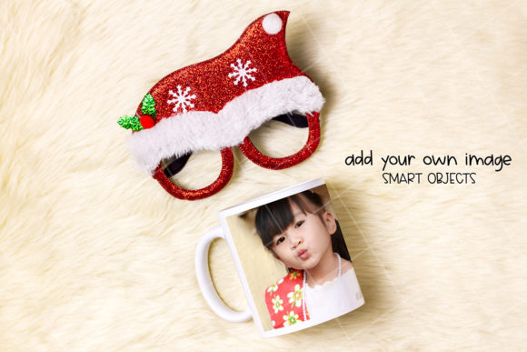 Print on Demand: Dye Sublimation Mug Mock-up Graphic Product Mockups By Pixel View Design