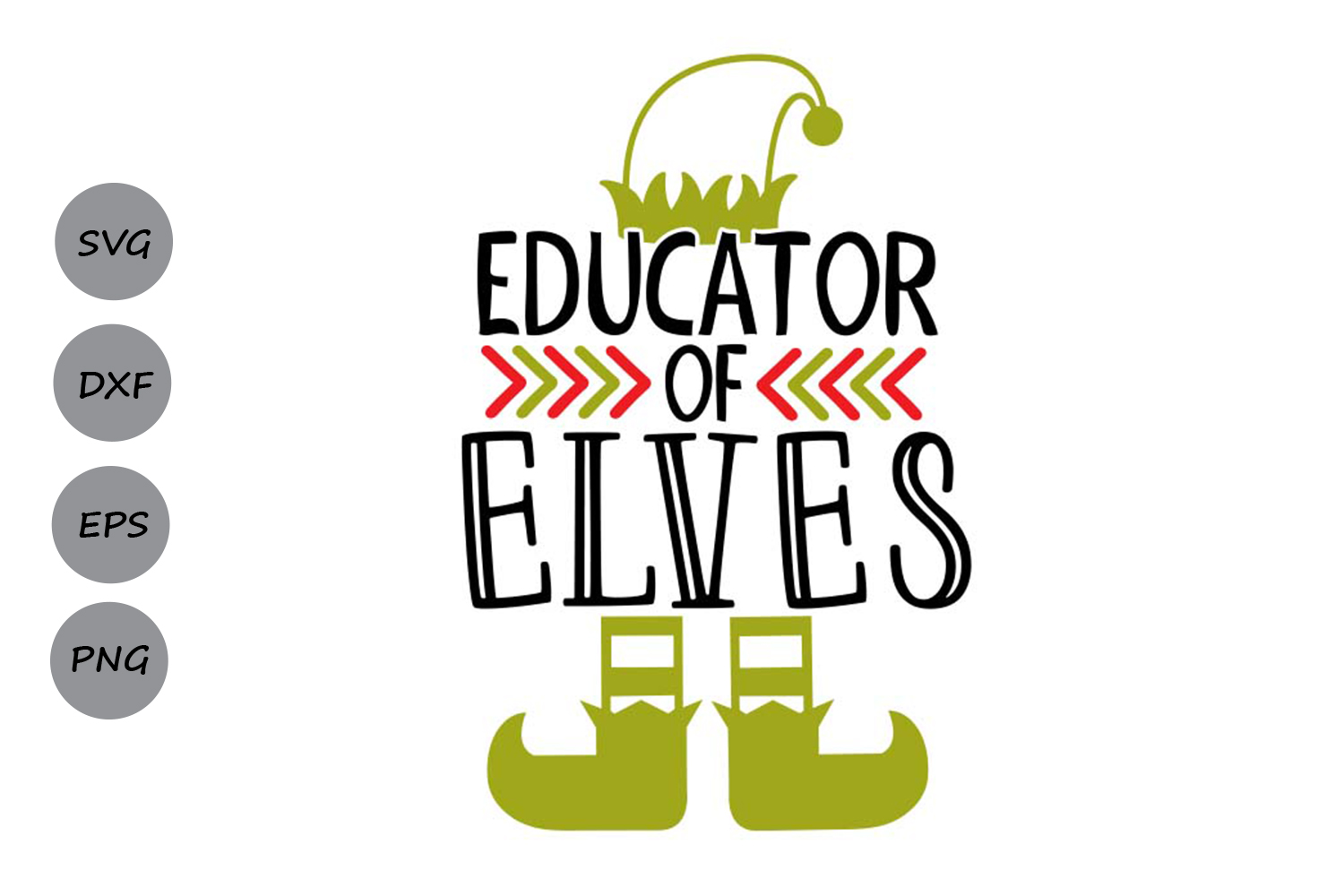 Download Free Educator Of Elves Graphic By Cosmosfineart Creative Fabrica for Cricut Explore, Silhouette and other cutting machines.
