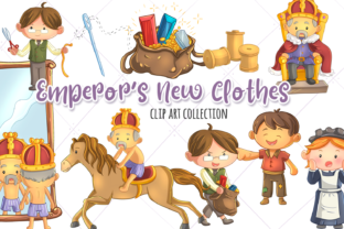 Emperor's New Clothes Clip Art Graphic By Keepinitkawaiidesign