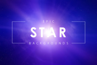 Epic Star Backgrounds Graphic By ArtistMef
