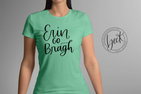 Download Free Erin Go Bragh Graphic By Beckmccormick Creative Fabrica for Cricut Explore, Silhouette and other cutting machines.