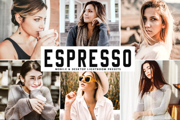 Print on Demand: Espresso Lightroom Presets Pack Graphic Actions & Presets By Creative Tacos