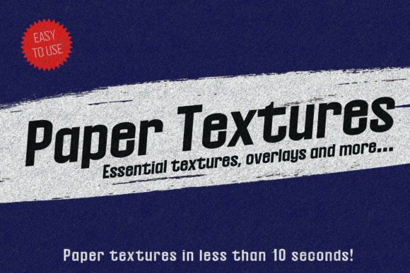 Print on Demand: Essential Paper Texture Pack Graphic Textures By denestudios