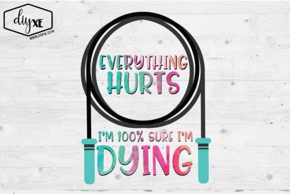 Everything Hurts Graphic Illustrations By Sheryl Holst