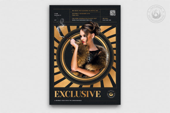 Exclusive Party Flyer Template V3 Graphic By ThatsDesignStore