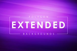 Extended Polygon Backgrounds Graphic By ArtistMef