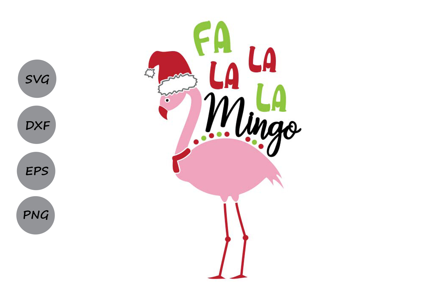 Download Free Fa La La La Mingo Svg Graphic By Cosmosfineart Creative Fabrica for Cricut Explore, Silhouette and other cutting machines.