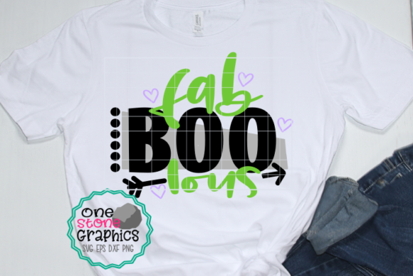 Download Free Fab Boo Lous Graphic By Onestonegraphics Creative Fabrica for Cricut Explore, Silhouette and other cutting machines.