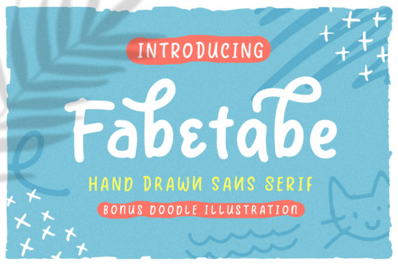 Print on Demand: Fabetabe Sans Serif Font By ironbirdcreative