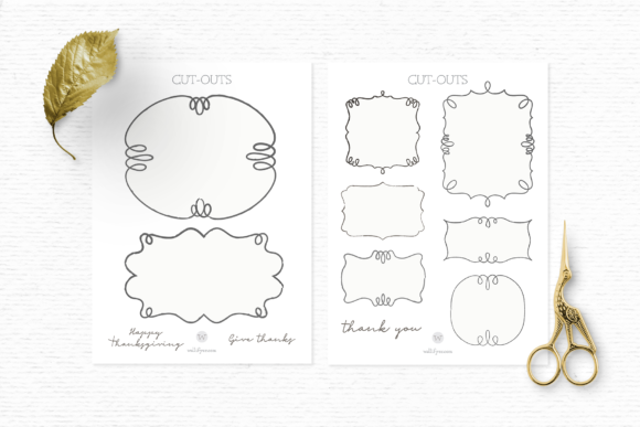 Fall Clipart and Pattern Bundle