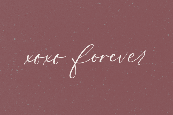 Print on Demand: Fall Ember Script & Handwritten Font By BeckMcCormick - Image 9