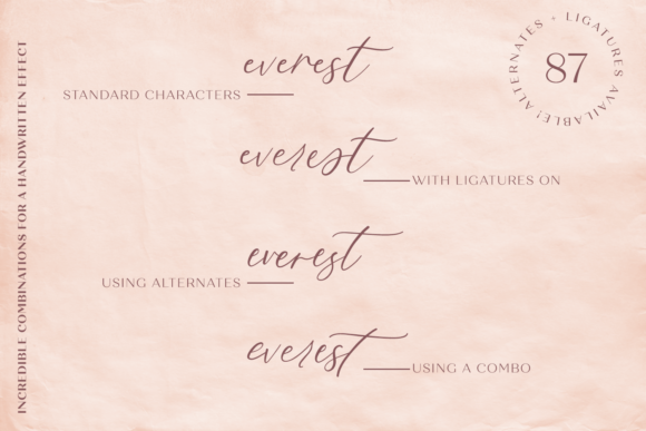 Print on Demand: Fall Ember Script & Handwritten Font By BeckMcCormick - Image 10