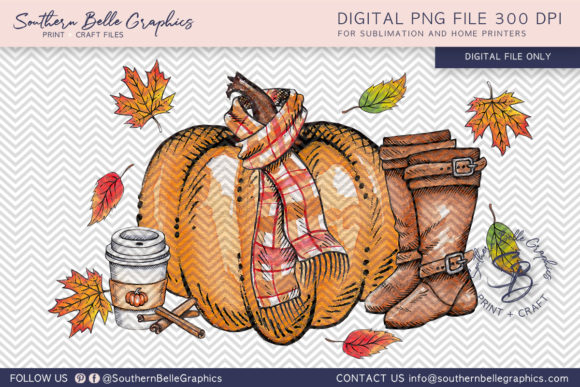 Fall Favorites Graphic Crafts By Southern Belle Graphics - Image 1