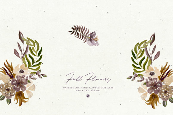Fall Flowers Graphic Illustrations By webvilla - Image 5