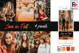 Fall Lightroom Presets Instagram Preset Graphic By adlydigital