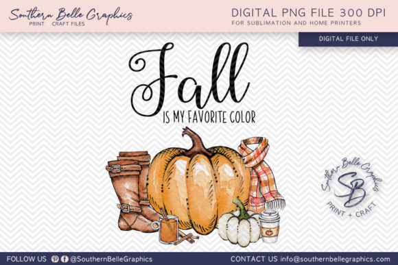 Fall is My Favorite Graphic Crafts By Southern Belle Graphics
