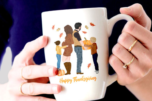 Family Clipart Graphic Illustrations By LeCoqDesign - Image 4
