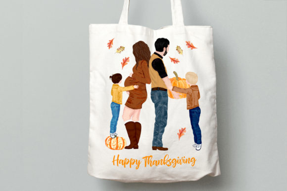 Family Clipart Graphic Illustrations By LeCoqDesign - Image 5