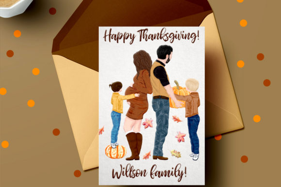 Family Clipart Graphic Illustrations By LeCoqDesign - Image 9